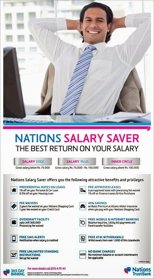 Nations Salary Saver | The best return on your salary.