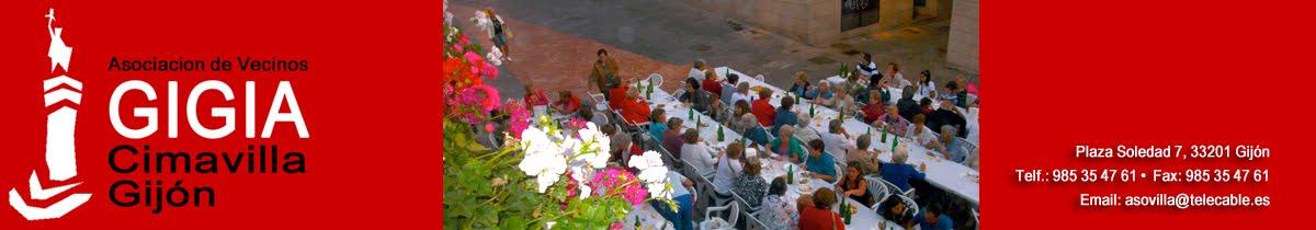 Asociación de Vecinos GIGIA Cimadevilla, Gijón (Asturias)