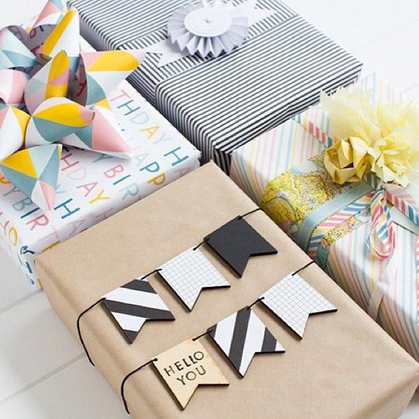 maneras diferentes y muy originales para envolver regalos como un profesional
