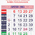 UPDATE KALENDER TOKO 2013 lengkap dengan Kalender Masehi, Hijriyah, Jawa, Pasaran dan Pranotomongso