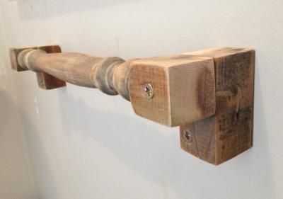 cabide Reaproveite madeira