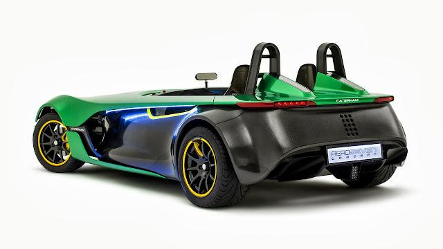 Caterham Aeroseven Concept Car rear side