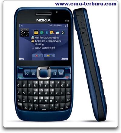 Download Tema Nokia E63 Gratis