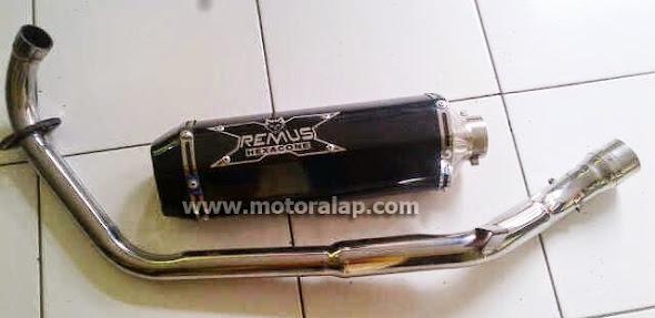 Knalpot Racing Yamaha Vixion Paling Ngebass