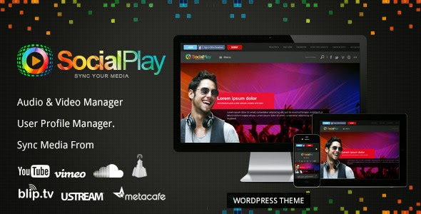 Download ThemeForest SocialPlay - Media Sharing Wordpress Theme for free.