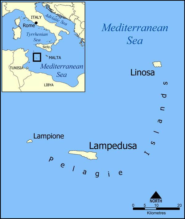 Lampedusa Italy  city pictures gallery : ... : Allarme di un geologo americano: Lampedusa rischia il ribaltamento