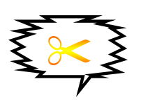 Plaquinha tesoura - criação Blog PNG-Free