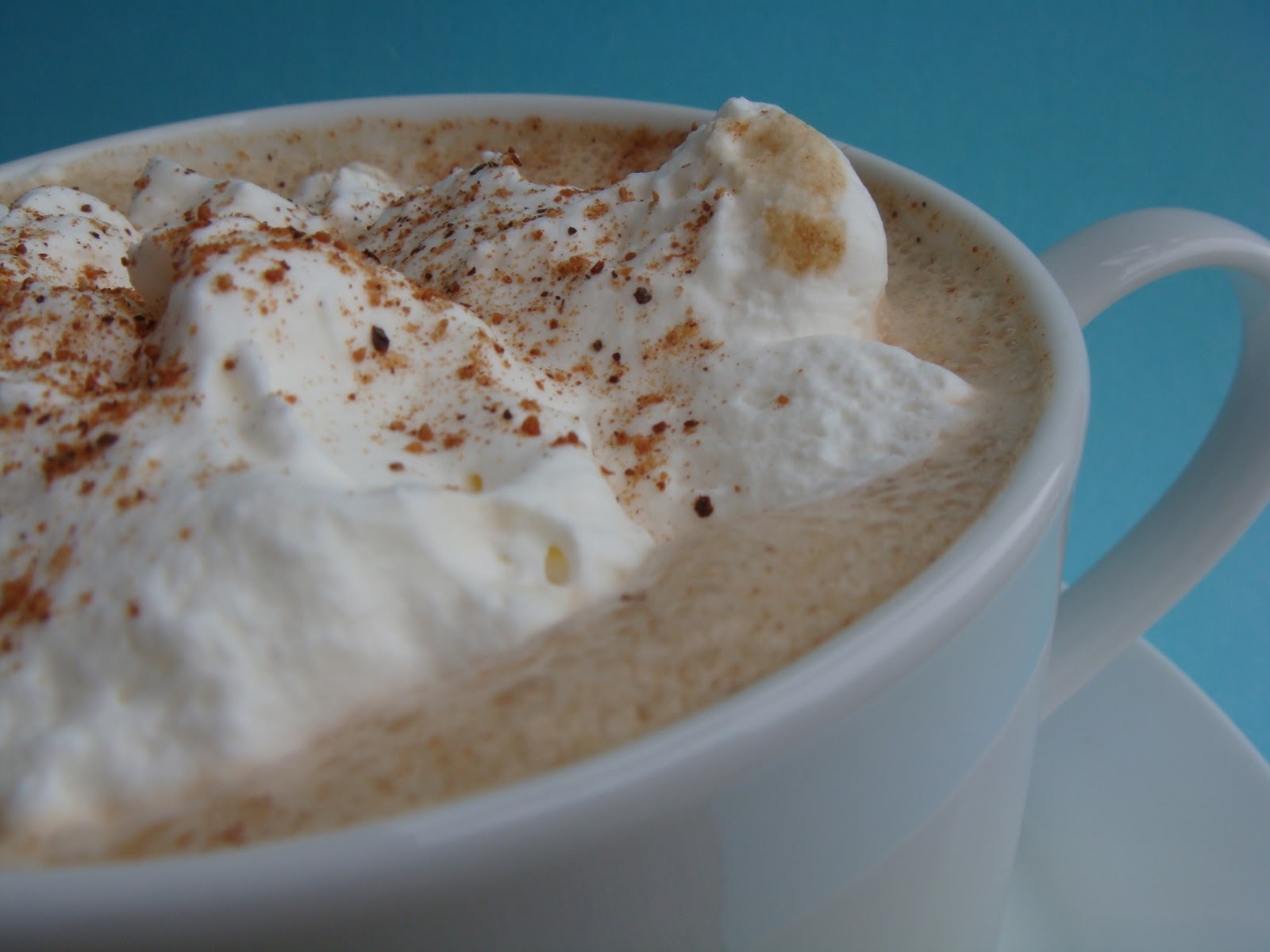My Sweet Creations: Pumpkin Eggnog Latte