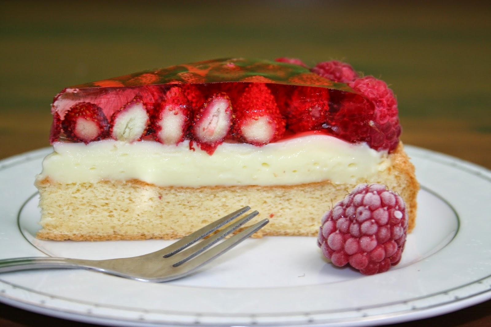 Ciasto z Poziomkami
