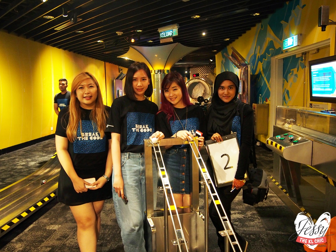 Event: Petrosains Illusion: Break The Code Hunt (KLCC)