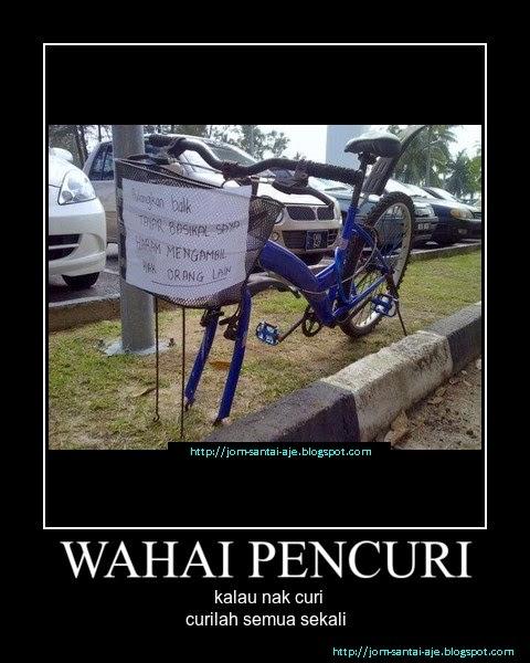 WAHAI PENCURI