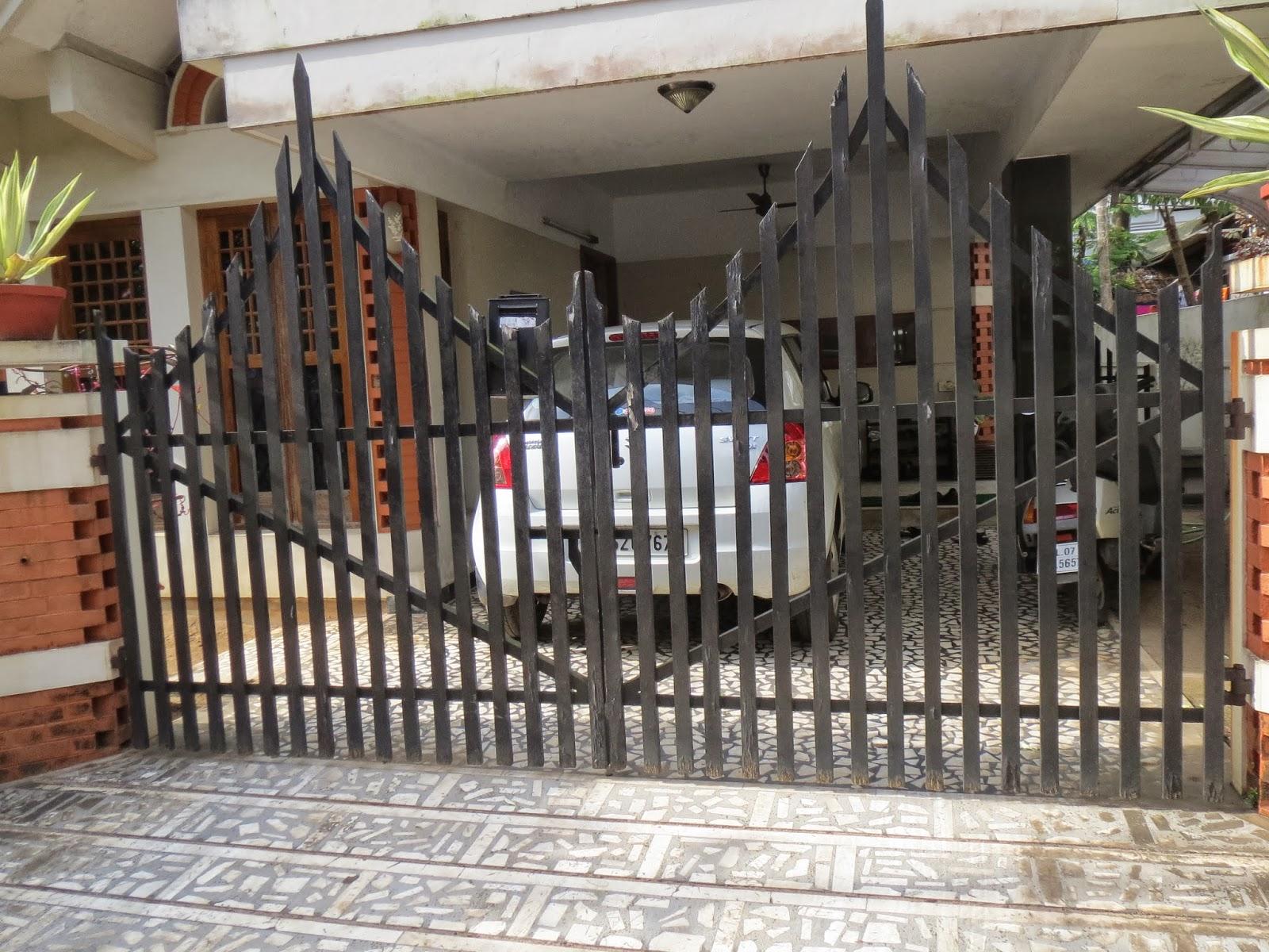 Kerala House Gates | Joy Studio Design Gallery - Best Design