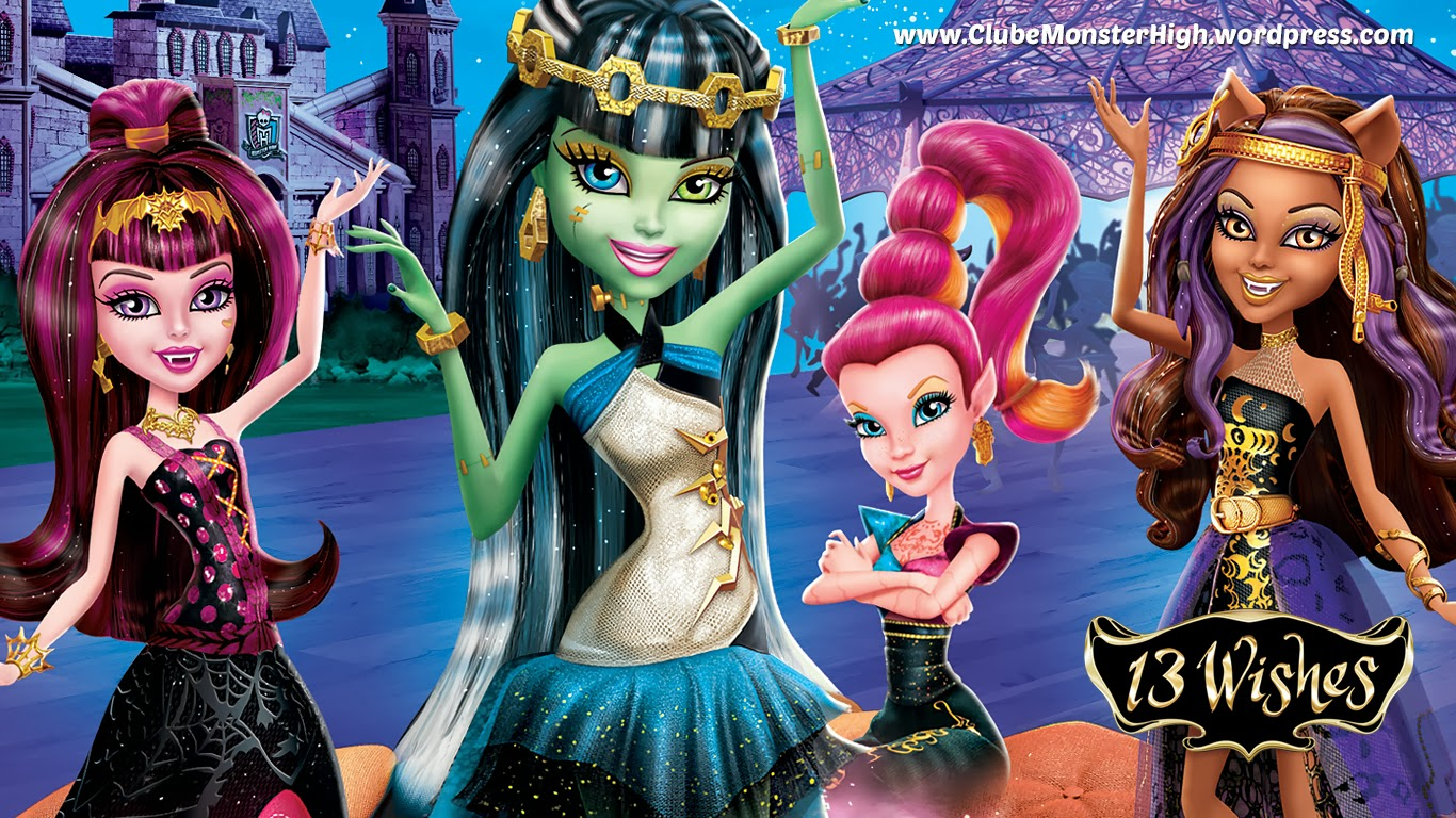 Monster High: 13 Wishes (2013) Hindi Dubbed Movie *BluRay*