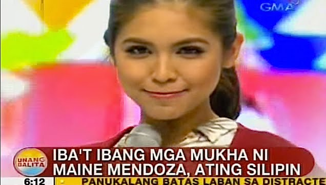 Different faces of Maine Mendoza
