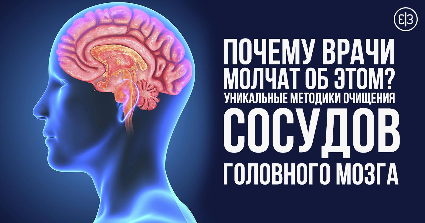 Как в домашних условиях чистить сосуды головного мозга 668