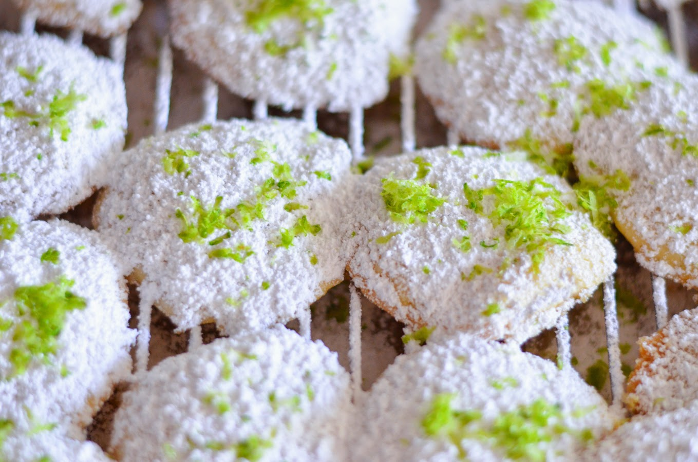 South Carolina Key Lime Cookies | Luci's Morsels :: LA Food Blog