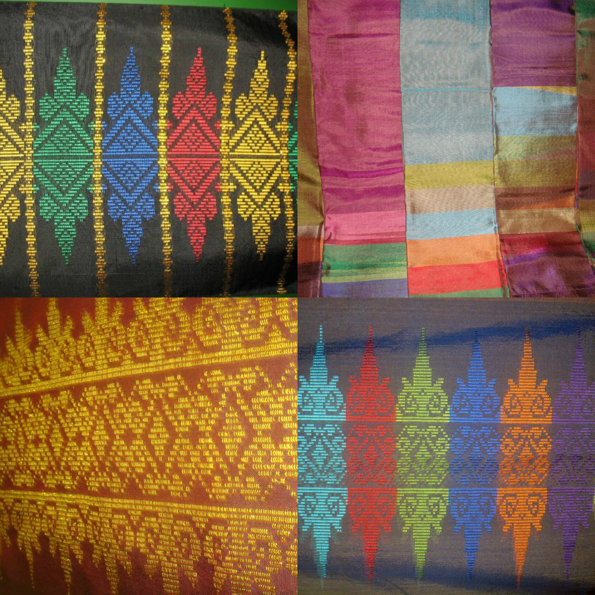 Ginis arts crafts handwoven fabric or textile for Fabric arts and crafts ideas