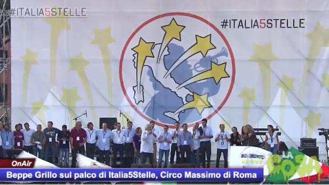 """BEPPE GRILLO: L'ITALIA5STELLE C'E' GIA'! E' L'ITALIA ONESTA"""""""