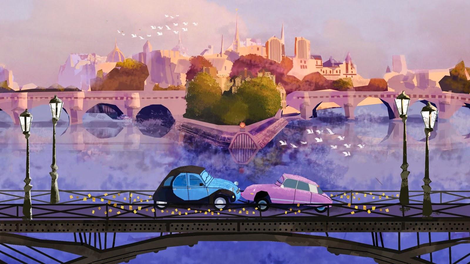 HD Funny car love, kissing, desktop Wallpapers