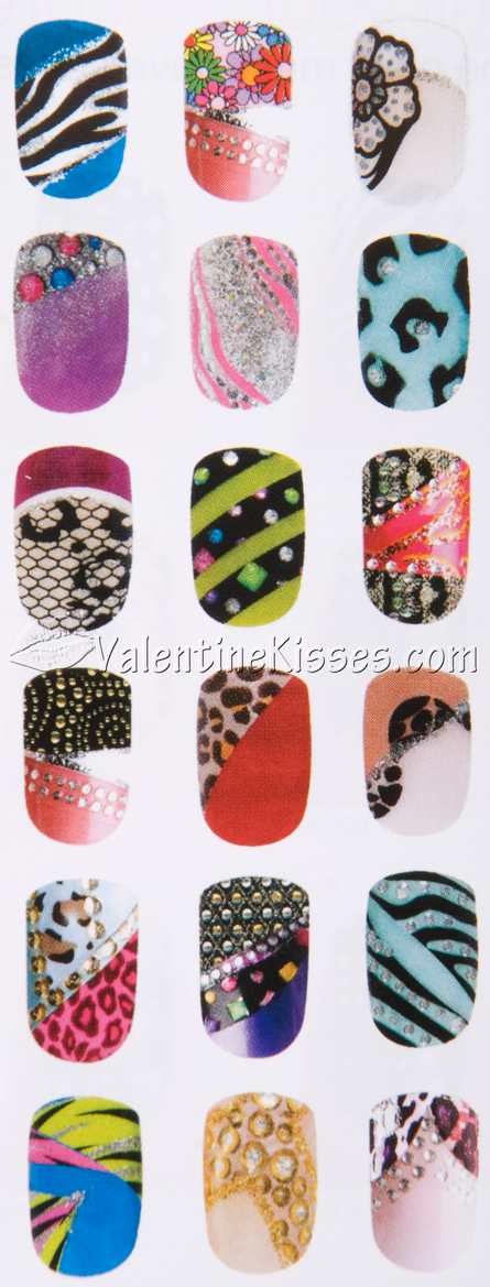 Valentine Kisses: Kiss Nail Dress - design KDS07 - pics, swatches ...