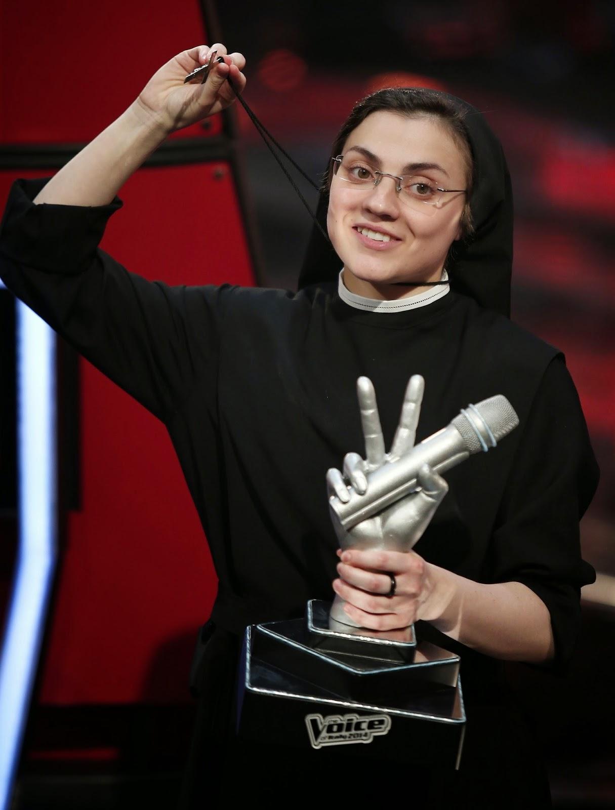 The Voice Sister Cristina Scuccia