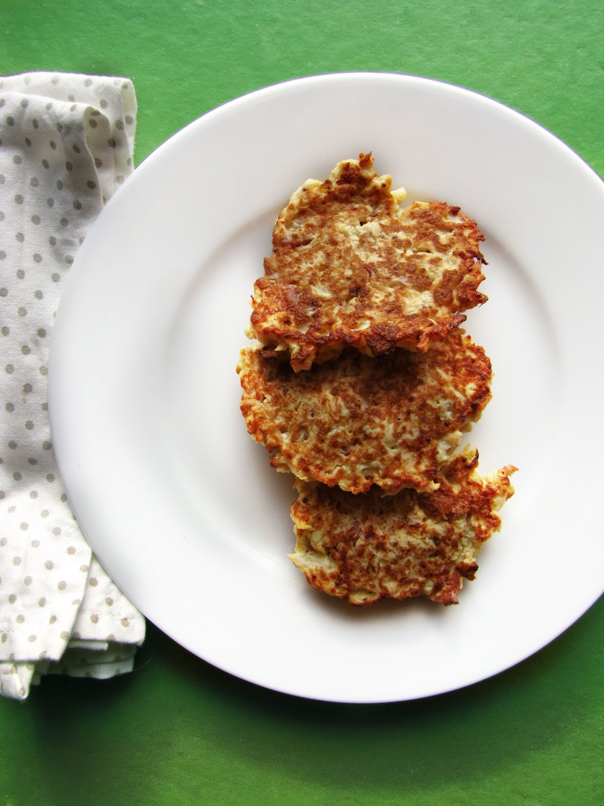 Lola-Lu's Kitchen: Cauliflower & Bacon Fritters