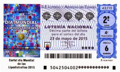Lotería Nacional sábado 23 de mayo de 2015