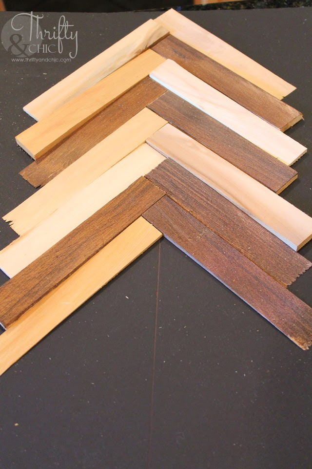 how to get a pattern onto wood