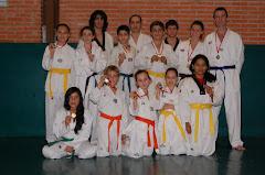 CAMPEONATO DE NAVIDAD 2011: 14 MEDALLAS