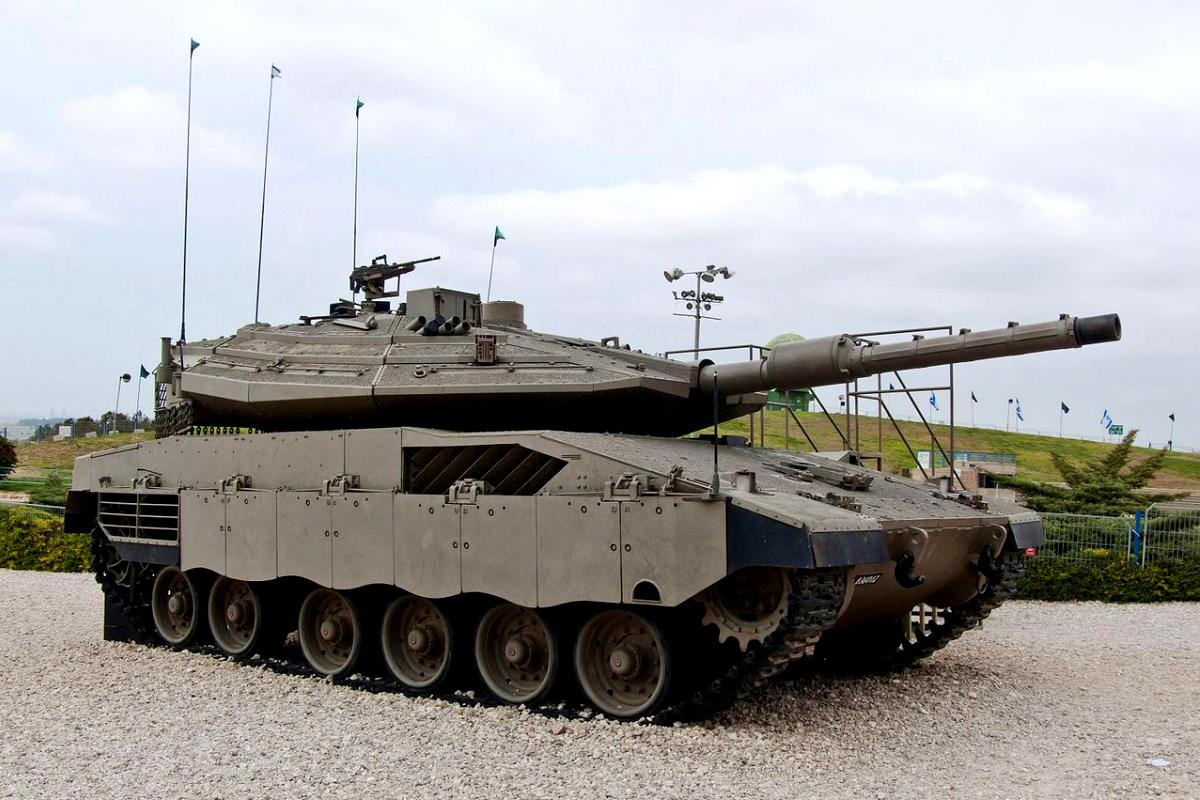 Tank Merkava Mk IV
