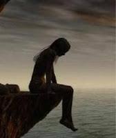 imagen de mujer sola