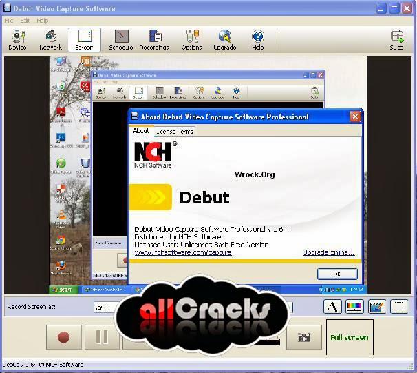 download debut video capture full crack