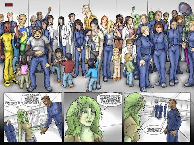 Ark Graphic Novel Image