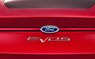 Ford EVOS Concept badge