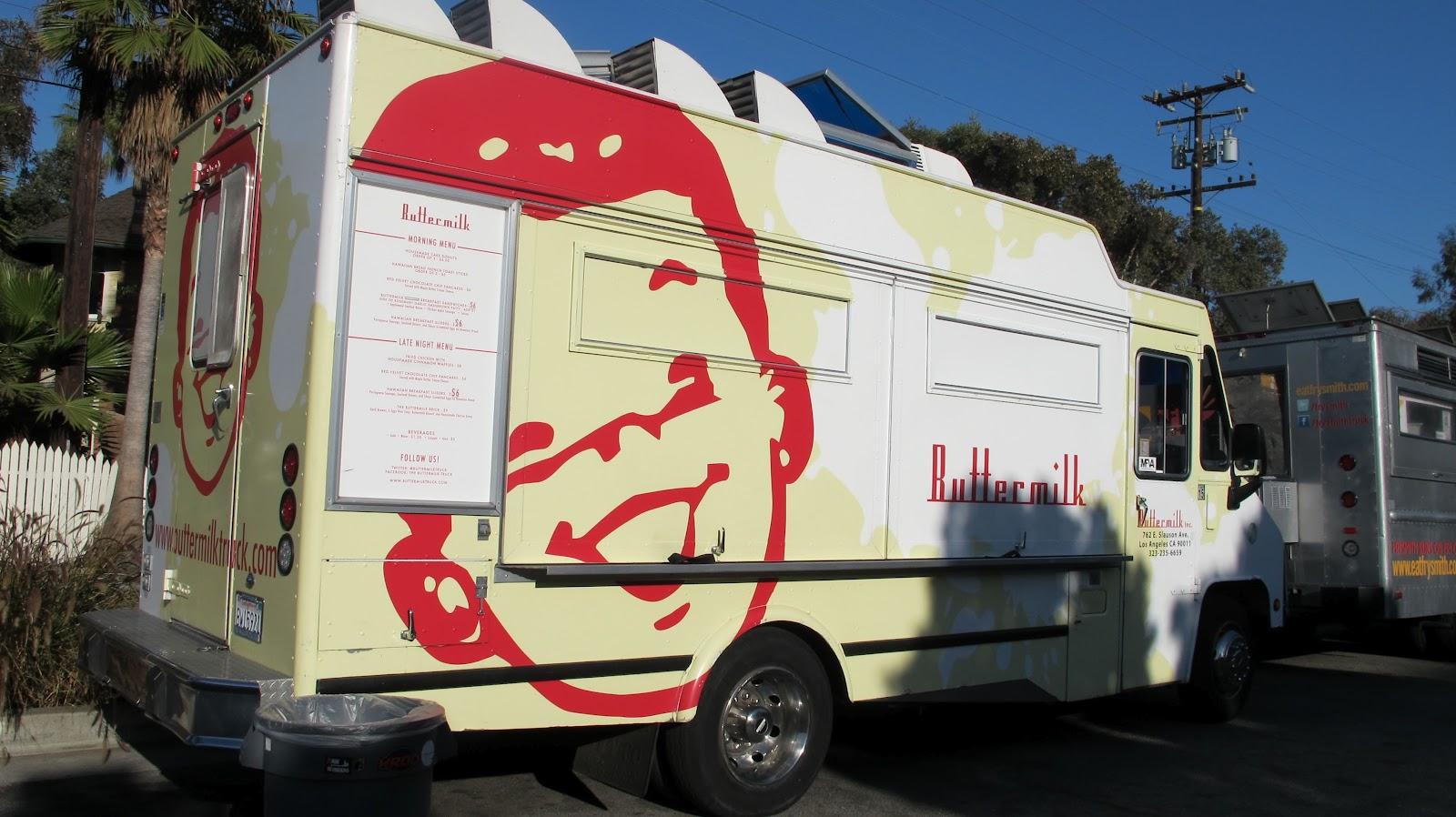 Los angeles lots of food truck lots