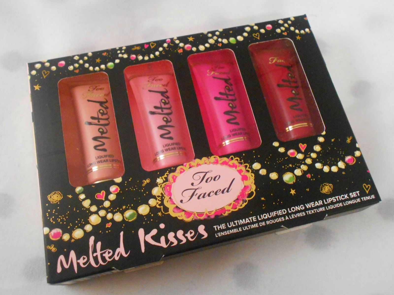 Review: Too Faced Melted Kisses Set! (Holiday 2014!)