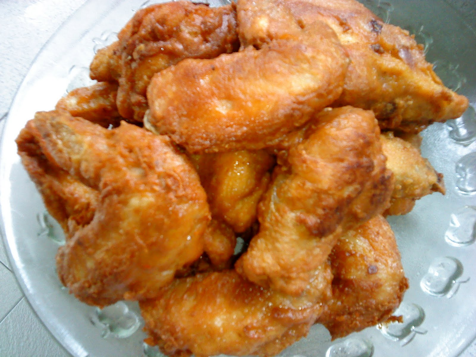 Cooking Pleasure: Fried Belacan Chicken Wings