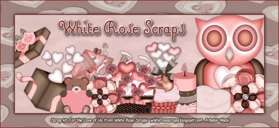 White Rose Scraps