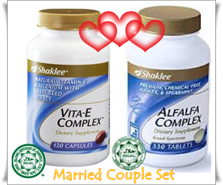 couple set shaklee