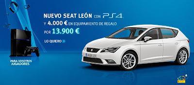 Seat Leon + Ps4