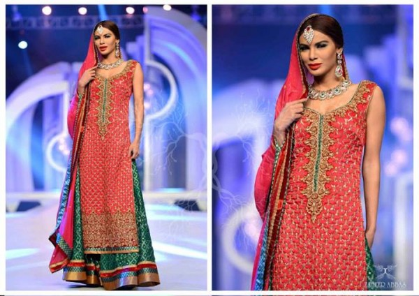 Zaheer Abbas Formal Wear and Stylish Bridal Wear Collection 2013