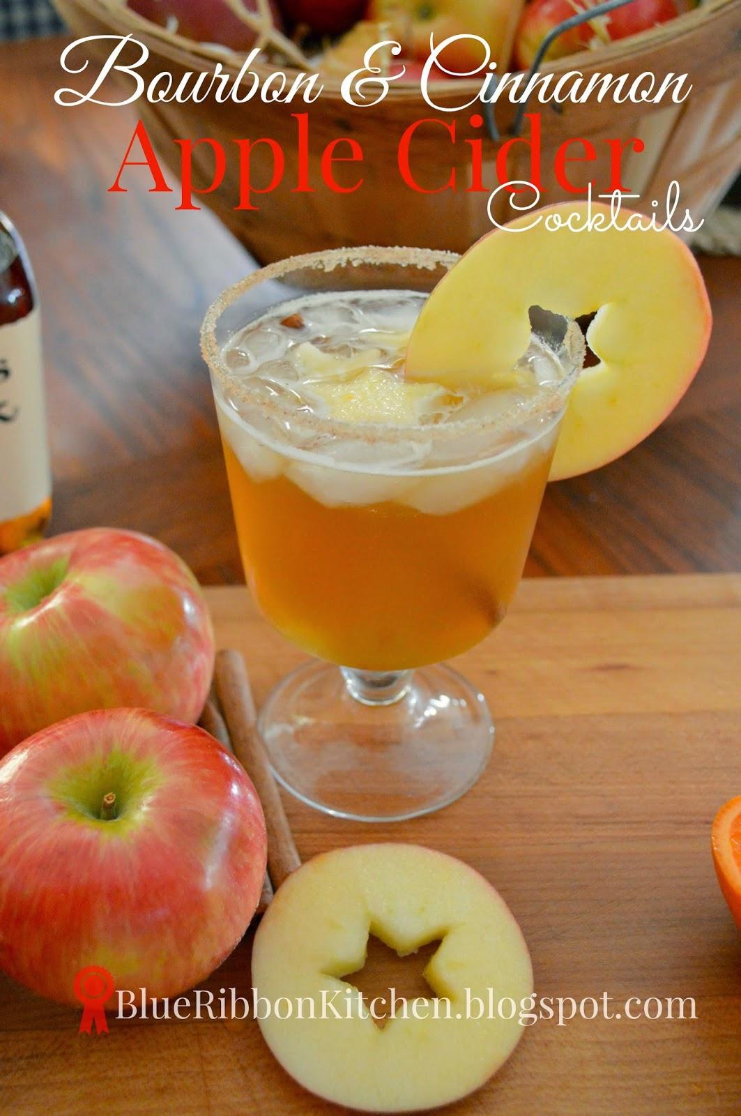 Blue Ribbon Kitchen Cheers Bourbon Cinnamon Apple Cider