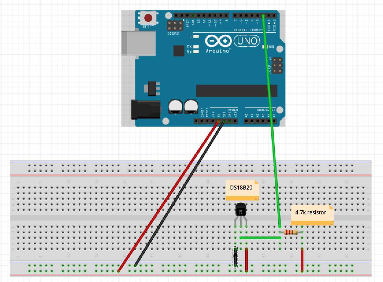 Sample code for arduino