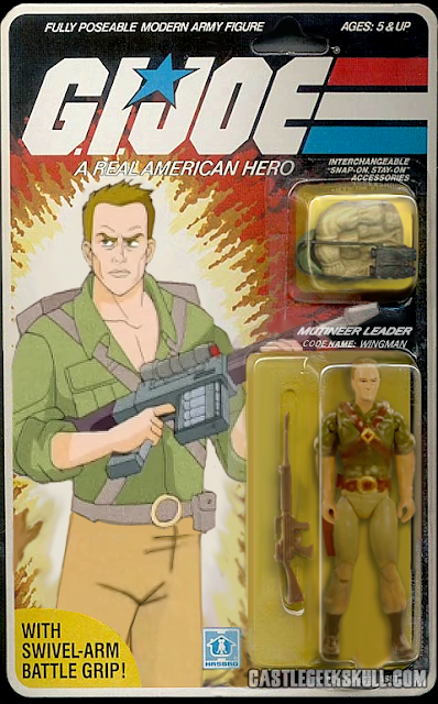 Community GI Jeff GI Joe Action Figures Wingman Packaging