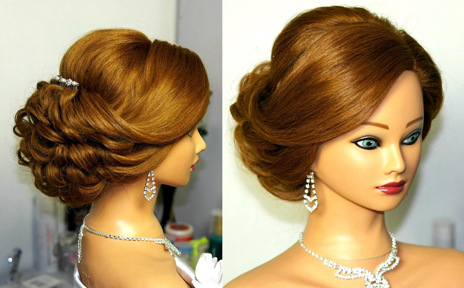 Video Tutorials For Girls Bridal Updo Hairstyle Tutorial