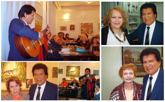 Dardo Noguera en Vivo en la SADE Casa Loepoldo Lugones, Buenos Aires