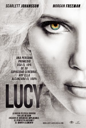 Lucy 2014 poster