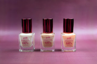 Preview: p2 Limited Edition: Pretty 60's - one & only nude nail polish - www.annitschkasblog.de