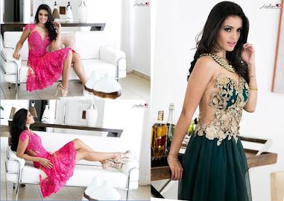 A modelo Sabrina Silva exibe talento, charme e sensualidade em sessão de fotos feitas por J. Willia
