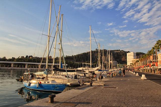 Port w Maladze, Hiszpania